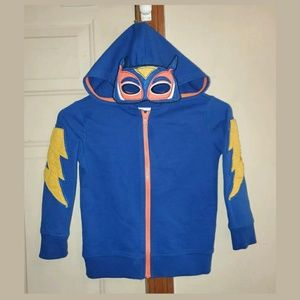 Epic Threads Zip Up Hoodie W/ Superhero Mask Hood